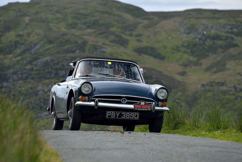 The Three Castles Welsh Trial 2014 - Sunbeam Alpine by Three-Castles
