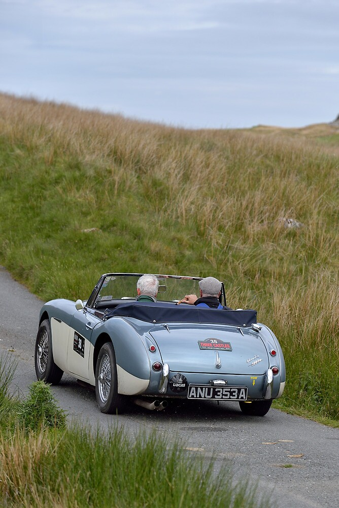 The Three Castles Welsh Trial 2014 - Healey MK 11A by Three-Castles