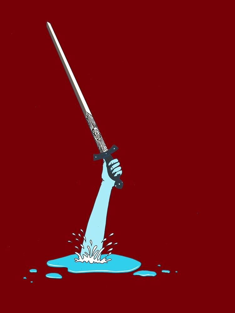 Excalibur and the Lady of the Puddle by SusanSanford