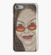 an American comedian, actress, singer,writer, and television host iPhone Case/Skin