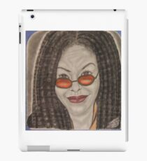 an American comedian, actress, singer,writer, and television host iPad Case/Skin