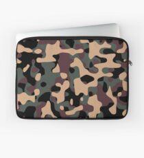 Woodland Camouflage Laptop Sleeve