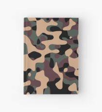 Woodland Camouflage Hardcover Journal