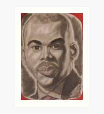 an American actor, producer, director, screenwriter, playwright, author, and songwriter, specializing in the gospel genre Art Print