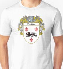 Perkins Coat of Arms / Perkins Family Crest T-Shirt