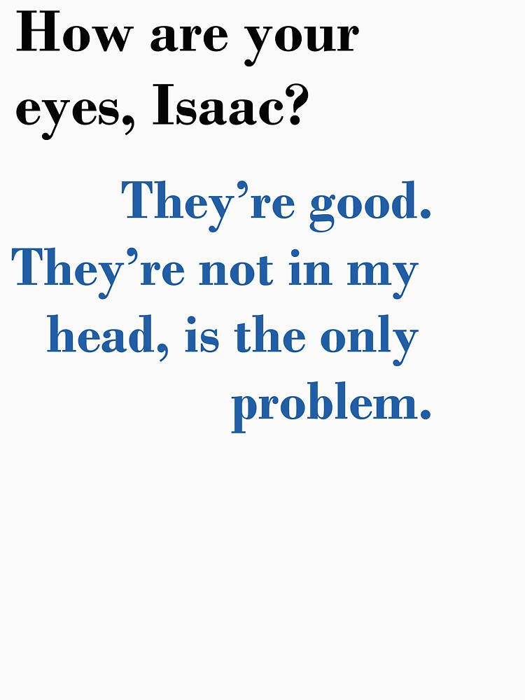 Isaac's Eyes - TFIOS by alexbarrett