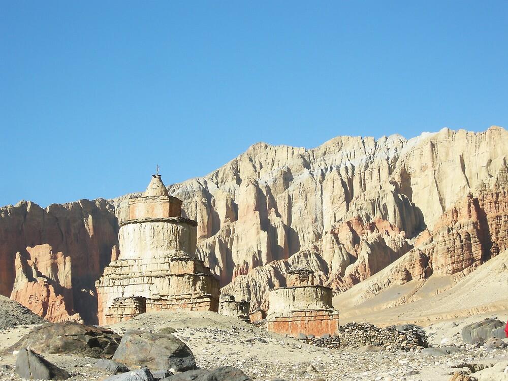 landscape muktinath by navaram