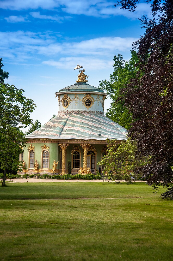 The Chinese tea House (Potsdam) by Stavros