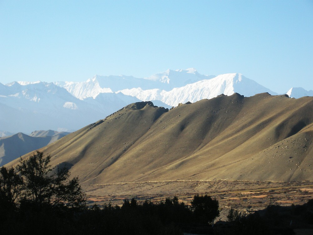 mountain view by navaram