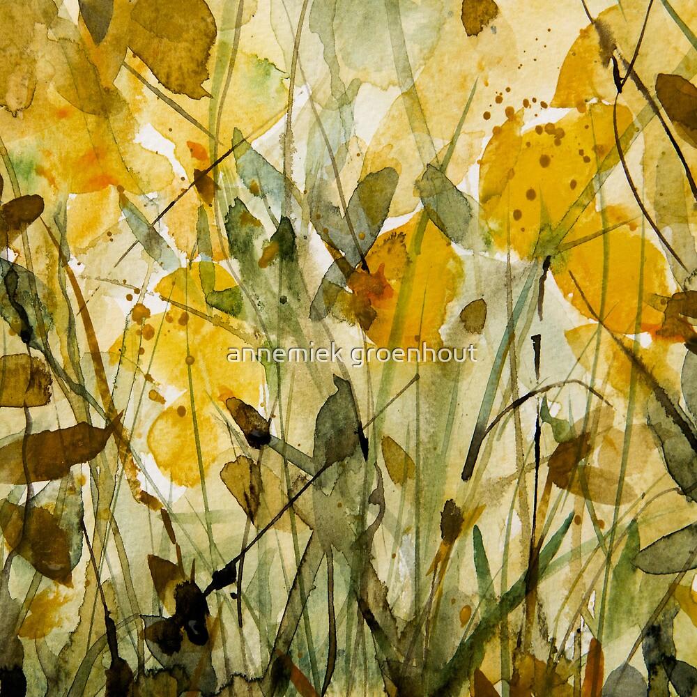 yellow fields by annemiek groenhout