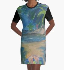 CHILL TIME(C2016) Graphic T-Shirt Dress