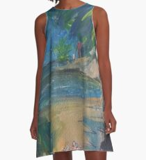 CHILL TIME(C2016) A-Line Dress