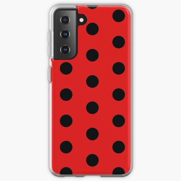 Ladybug Pattern Samsung Galaxy Soft Case