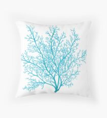 Sea Fan Throw Pillow