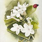 Jasmine with Ladybird by Ray Shuell