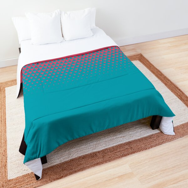 Triangle Fade 1 Comforter