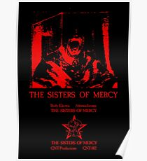 The Sisters Of Mercy - The Worlds End - Body Electric - Adrenochrome Poster