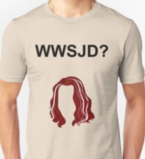 WWSJD? (Plain - Black) Unisex T-Shirt