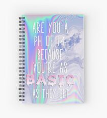 Basic AF Spiral Notebook
