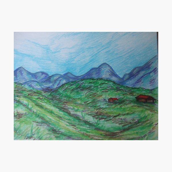 Spring Mountains Photographic Print