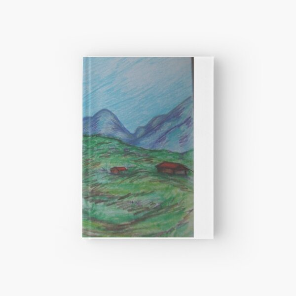 Spring Mountains Hardcover Journal