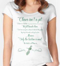 Chaos is a ladder~ Littlefinger Women's Fitted Scoop T-Shirt
