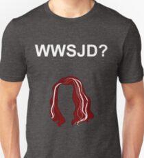 WWSJD? (Plain - White) T-Shirt