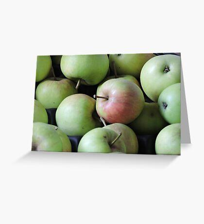 Magic Wishing Apple Greeting Card