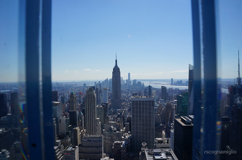 nyc-top of the rock- fisheye by rscognamiglio