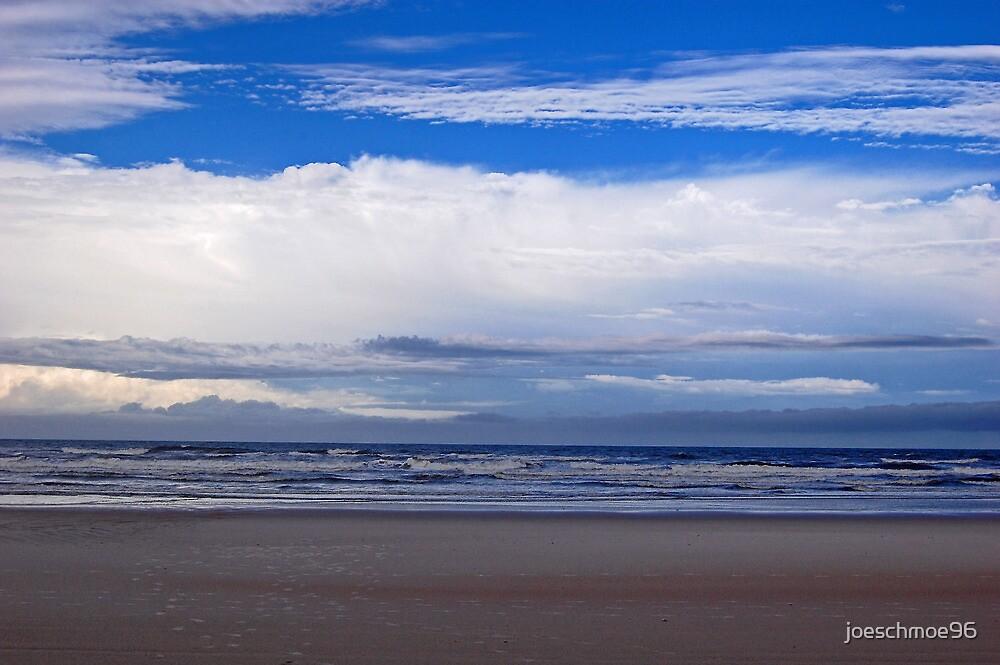 Beach and clouds by joeschmoe96