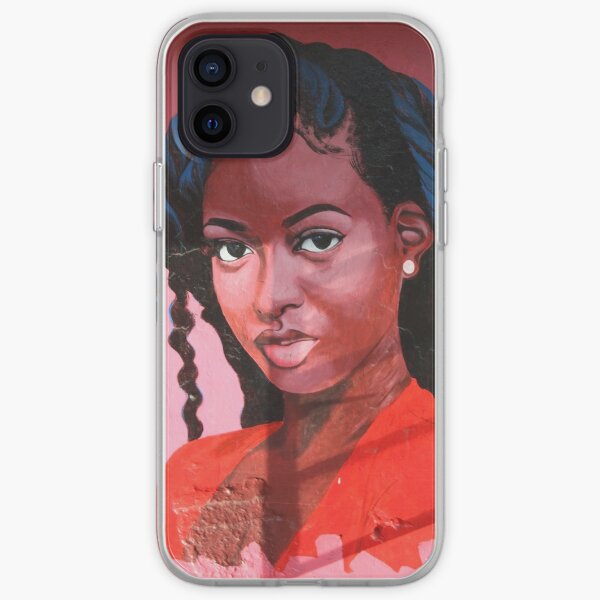 The Blue Braids Collection iPhone Soft Case