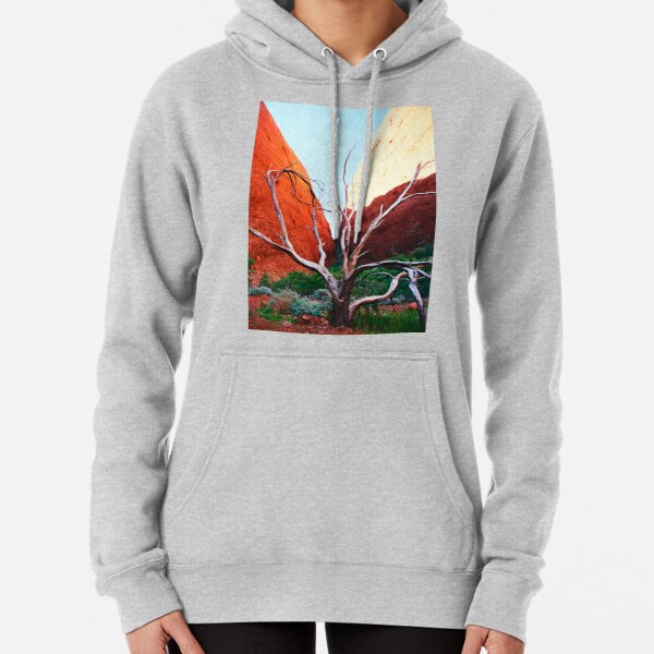 Valley of the Winds at The Olgas Pullover Hoodie