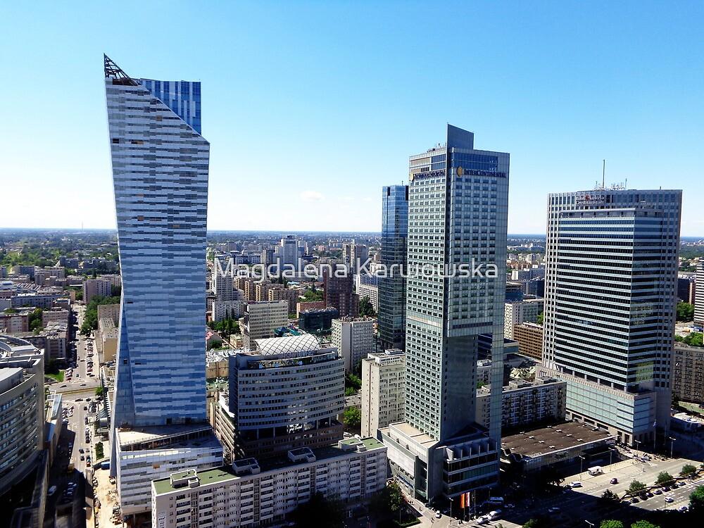Warsaw Poland by Magdalena Karwowska