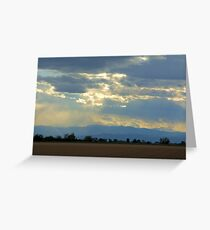 Mountain view Livermore Greeting Card