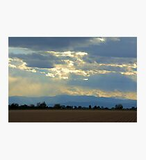 Mountain view Livermore Photographic Print
