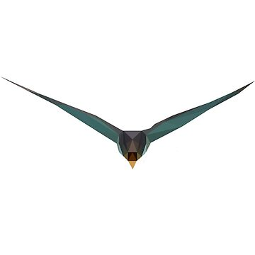 Low Poly Collection - Swallow by Jacquilina
