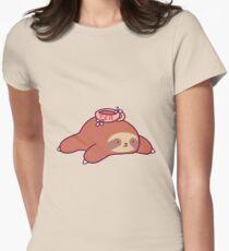 Tea Flower Sloth T-Shirt