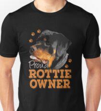 Rottweiler - Proud Rottie Owner Unisex T-Shirt