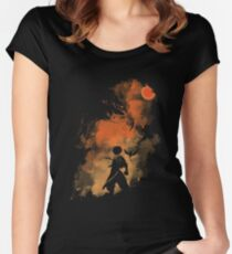 Fairy Tail - Shadow Women's Fitted Scoop T-Shirt