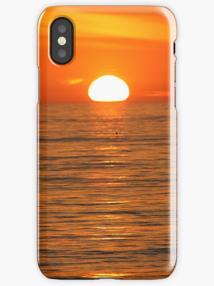 Sunset in orange by wingsonafield