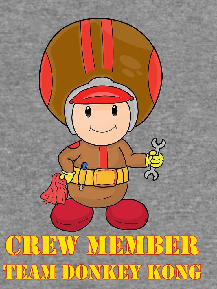 Team Donkey Kong crew member by vdBurg