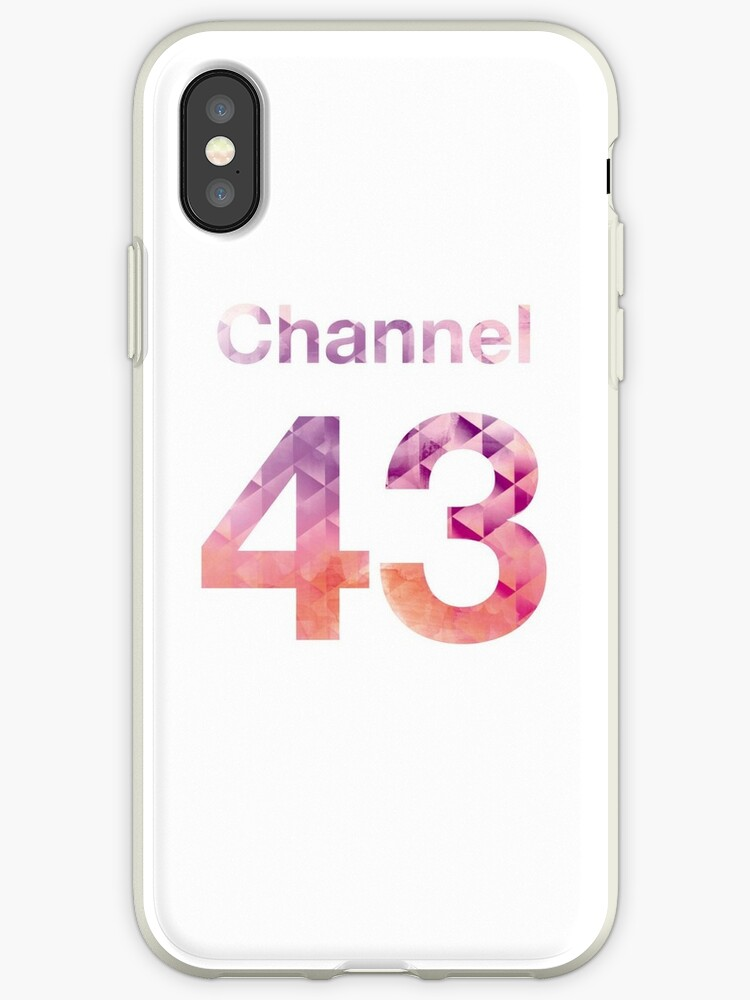 Channel 43 - Pink Crystal (White) by pesomusic