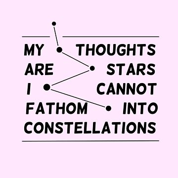 """""""my thoughts are """"  quote pink by marlaehrhardt"""
