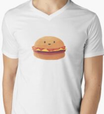 Burger Buddy Men's V-Neck T-Shirt