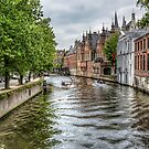 The Groenerei Canal in Bruges (Belgium) by Marc Garrido Clotet