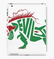 Deviljho Two-Color Typography iPad Case/Skin