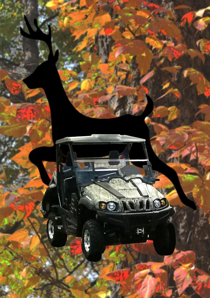 4x4 Deer Wheeler by Carol Vega
