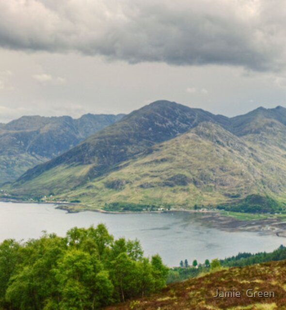 The Five Sisters Of Kintail by Jamie  Green