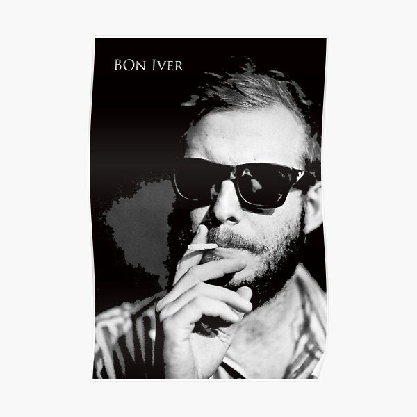 best selling wallpaper and poster indie folk band bon iver fro mowan79 and gudeggaring Poster