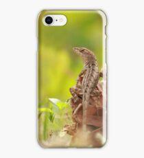 Lizard says hi iPhone Case/Skin